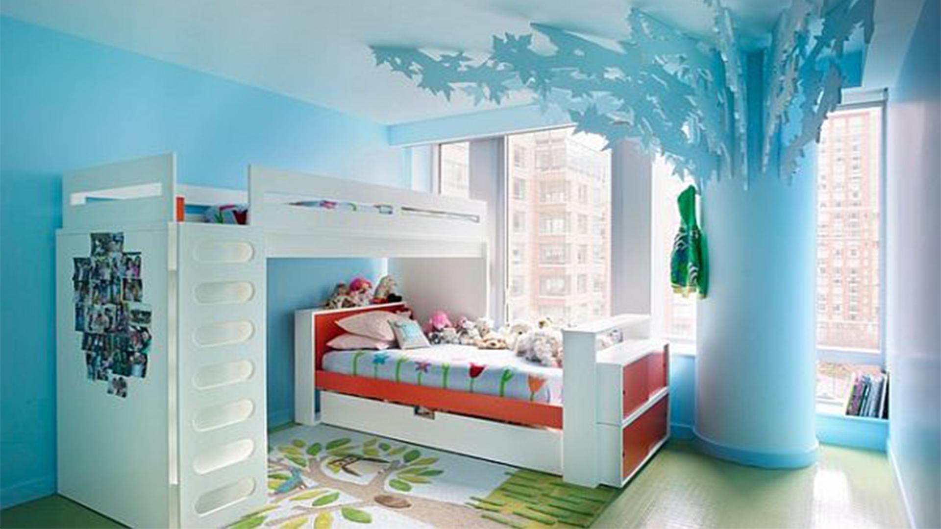 Luxury Blue Girl Rooms