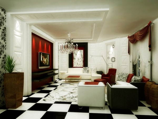 Posted On July 28, 2013. Want To Create An Elegant Living Space? These Living  Room Designs ...