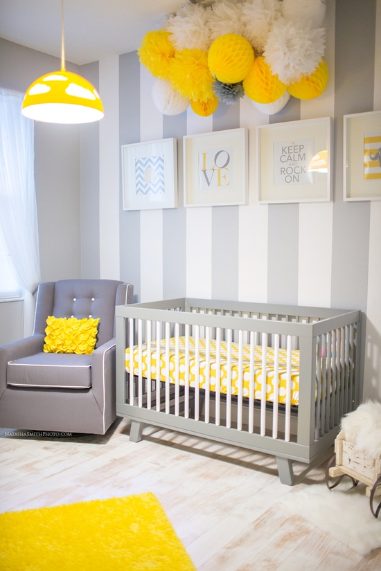 Lovely Yellow & Grey Nursery (Gallery)