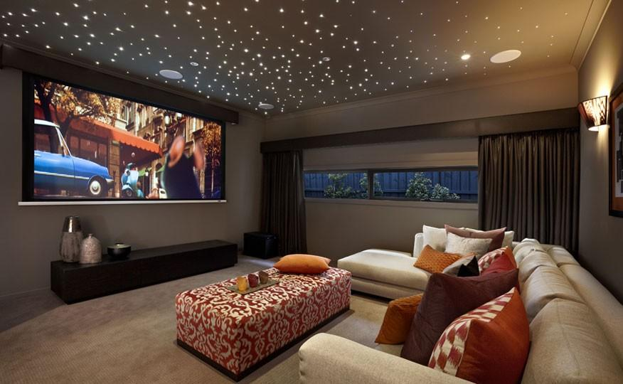 Wall Lights For Movie Room : Star Ceiling Yes Please! DIY Instructions The Home Touches