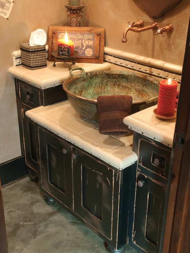 Old world feel bathroom designs the home touches for Old world bathroom designs