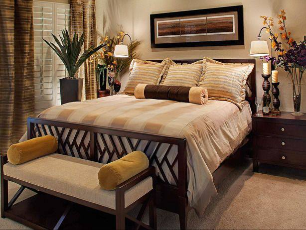 15 earth tones bedroom designs 15 photos the home touches Earth tone bedroom