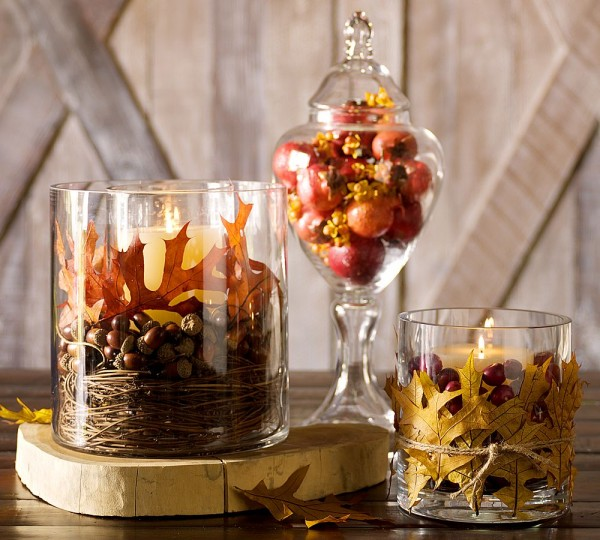 10 simple fall decorating ideas the home touches - Fall decorations for home ...