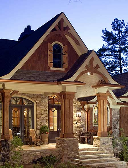 Award winning gable roof home design 26 photos the for Gable designs