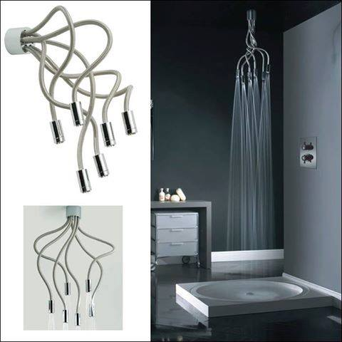 Awesome Or Creepy Multi Head Shower The Home Touches