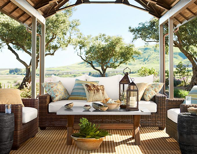 Decorating Ideas For Outdoor Spaces/Pottery Barn