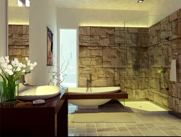 20 exceptional and relaxing contemporary bathroom designs the home touches - Extraordinary and relaxing contemporary bathroom designs ...
