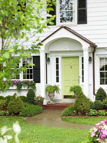 Great looking front door ideas and paint colors the home - Front door paint color ideas ...