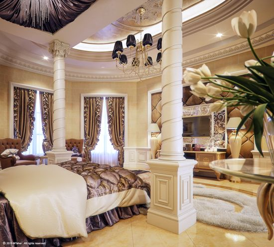 posted on september 26 2013 this over the top luxury master bedroom - Luxury Homes Master Bedroom