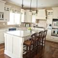 White Kitchen Transformation (16 Pictures)