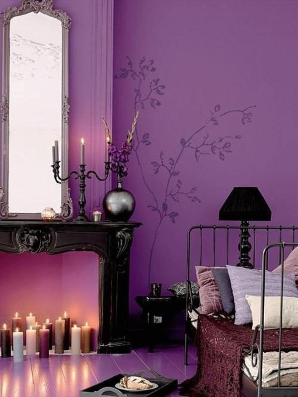 Decorating a Bedroom With A Halloween Vibe