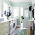 Bright Laundry Room