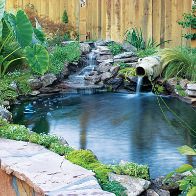 Waterfall Landscape Design Ideas backyard waterfall designs Ponds And Waterfalls Designs