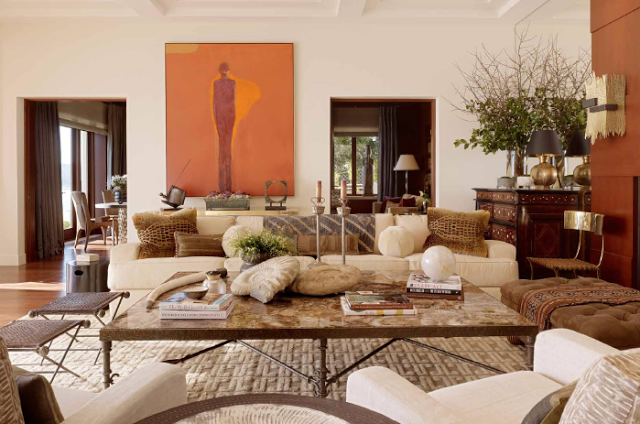 Suzanne tucker the romance of design 22 photos the for Romantic living room designs