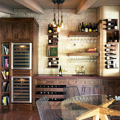 Design ideas for wine storage and tasting The Home Touches