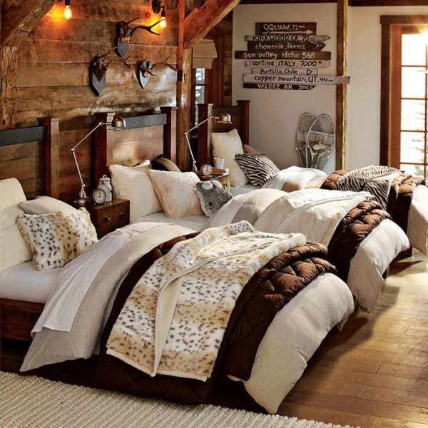 Winter bedroom decorating ideas 12 photos the home touches for Winter bedroom