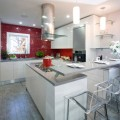 Kitchen Color: 15 Ravishing Red Backsplashes