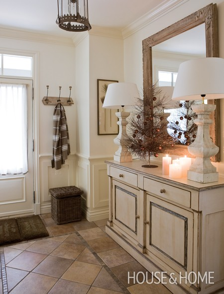 Foyer Entrance Exam : Photo gallery christmas country home the touches