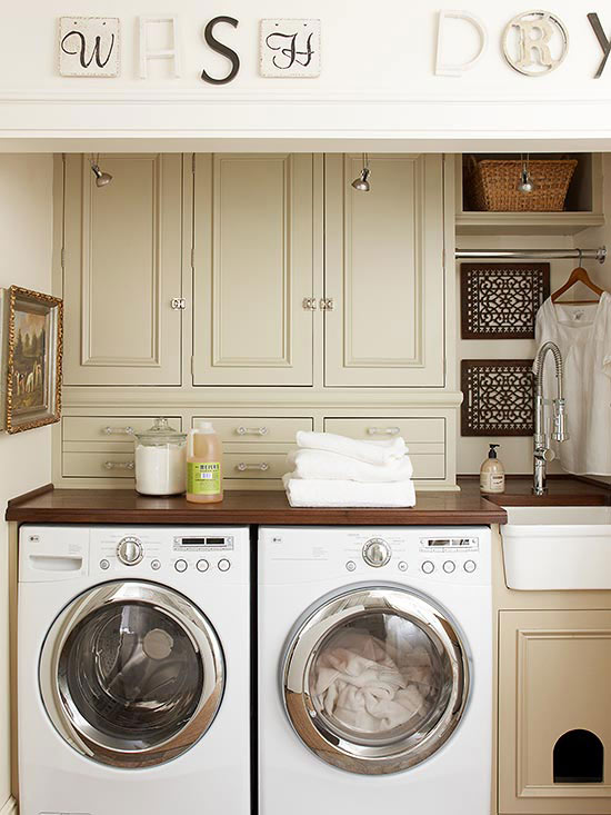 laundry room storage solutions the home touches