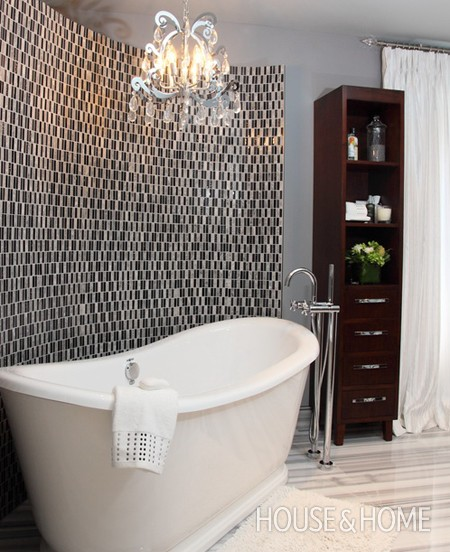 Excellent Ensuite Bathroom With Travertine Tiles  Traditional Decorating Ideas