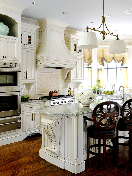 Get the look french country kitchen 9 photos the home touches - French style kitchen decor ...