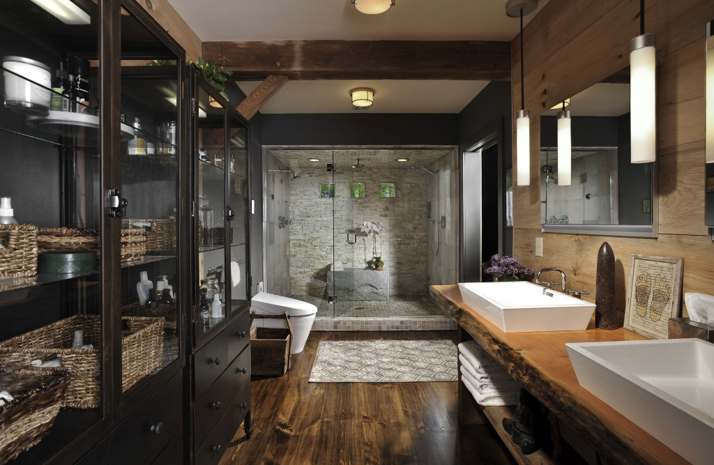 Modern earthy bathroom design the home touches for 4x5 bathroom ideas