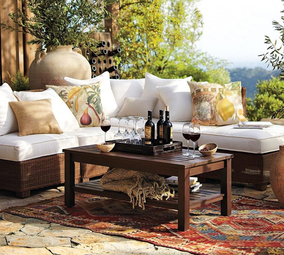 Outdoor Furniture By Pottery Barn The Home Touches