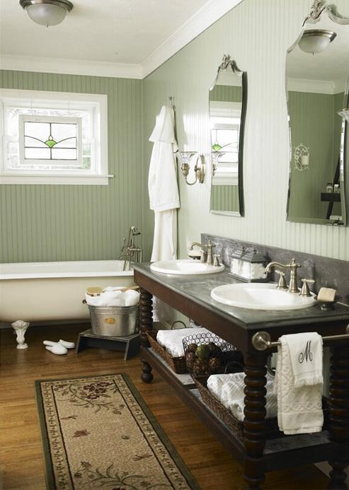 Vintage Style Bathroom The Home Touches