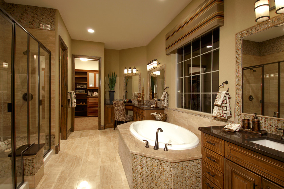 Mediterranean styled home amazing bathroom 10 photos for Amazing bathroom remodels