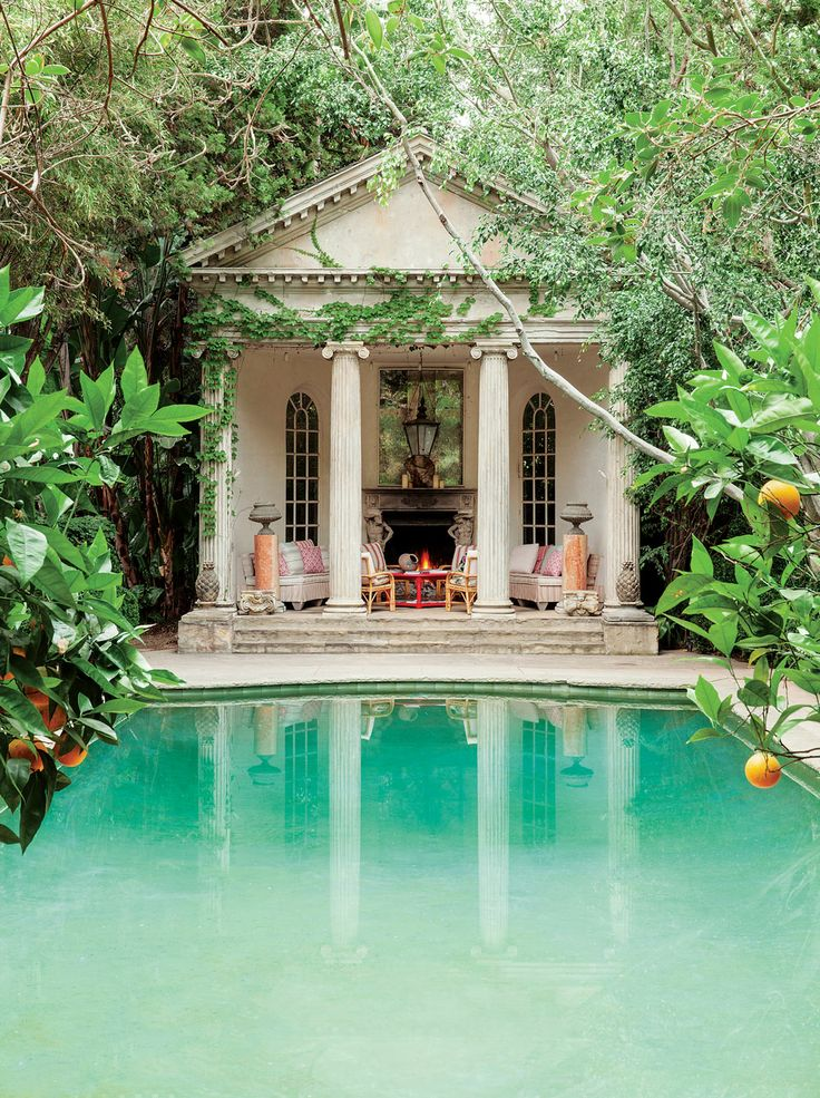 Amazing pool house in secret garden 10 photos the home for Amazing pool houses