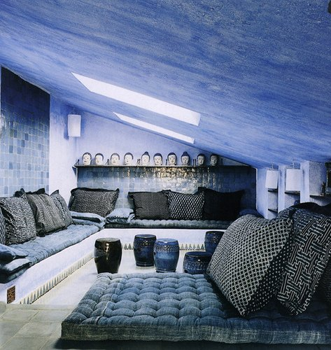 design ideas for any room with sloped ceilings 10 photos the