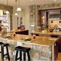 Natural Stone In Kitchen