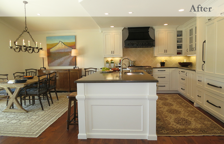 before and after kitchen renovation the home touches