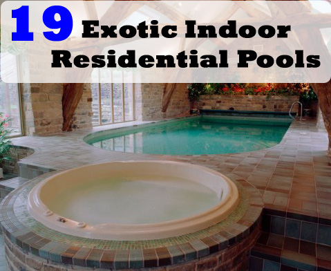 Residential Indoor Pools | The Home Touches