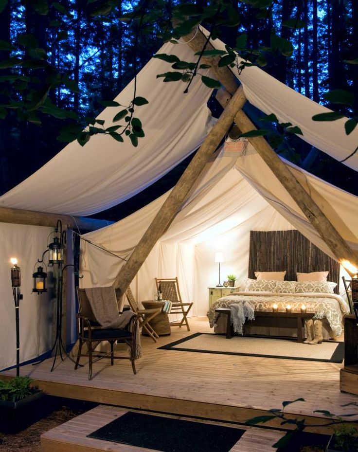 call roughing it 7 great outdoor bedrooms the home touches