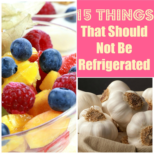 15 Things You Should Not Refrigerate The Home Touches