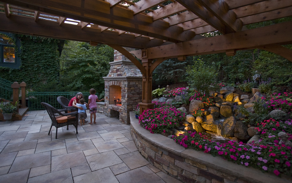 Hill Backyard :  Picture Perfect Backyard on Steep Hill (18 Photos)  The Home Touches