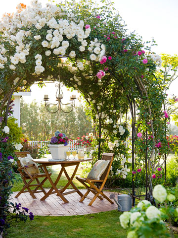 Stunning Way To add Romance To Your Backyard