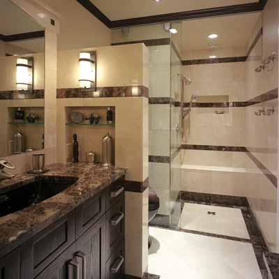 13 big ideas for small bathrooms the home touches for Bathroom ideas 8 x 10