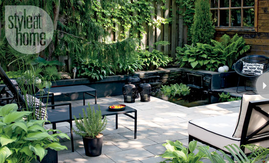 Backyard Makeover Ideas : Backyard makeover A DIY renovation  The Home Touches