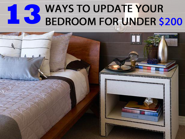 13 Ways To Update Your Bedroom For Under 200 The Home