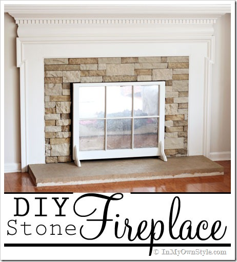 DIY Fireplace Makeover The Home Touches