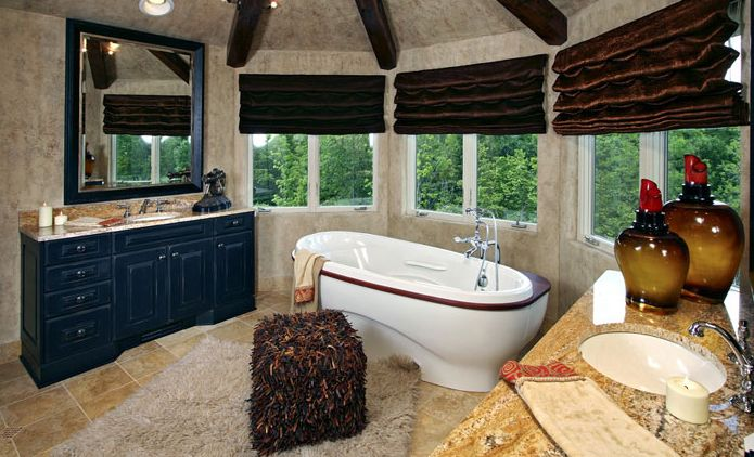 A Little Tuscan Inspirational Bathroom