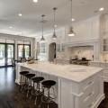 White Open Kitchen Concept