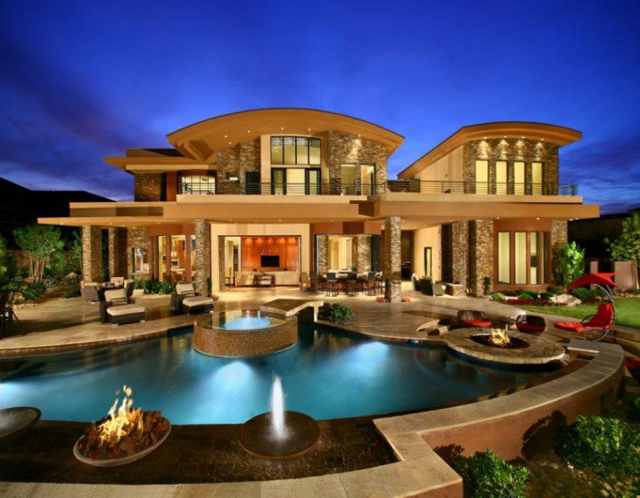 15 Extreme Mansions with Ridiculous Pools The Home Touches