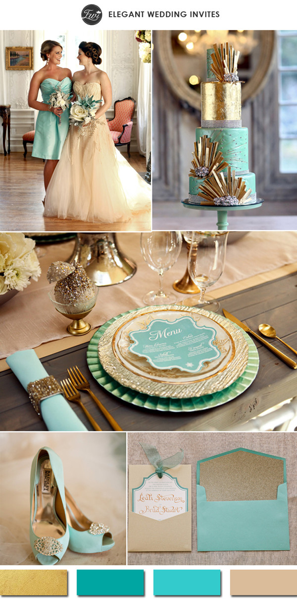 10 hottest gold wedding color ideas 2015 wedding trend the home