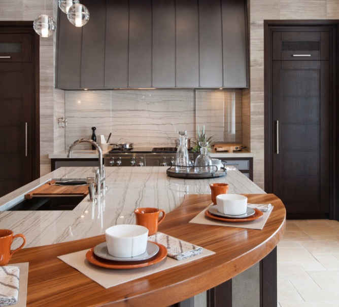 Modern Kitchen Countertop Ideas Part - 28: 30 Fresh And Modern Kitchen Countertop Ideas
