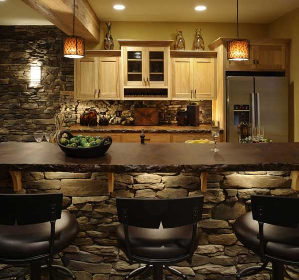 Rustic Stone Kitchens