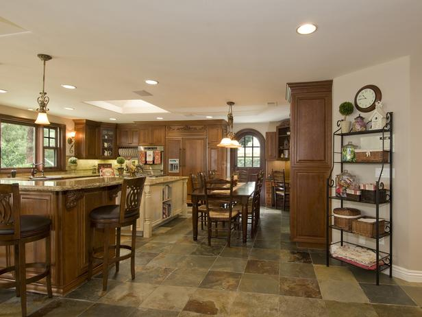 What Do You Wan... Natural Stone Floors Kitchen