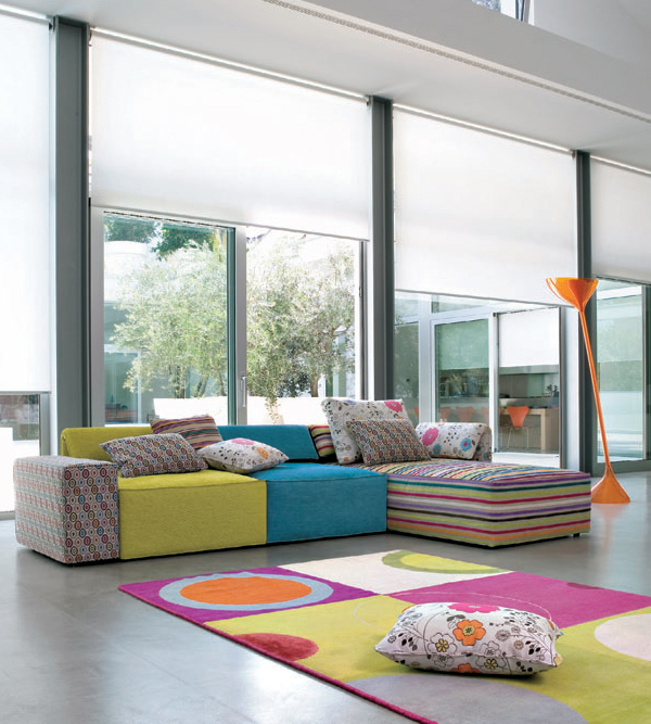 Playful Interior Design Collection Kube